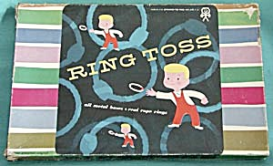 Vintage Ring Toss Game