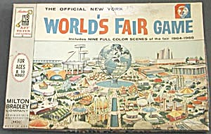 Vintage Official New York World's Fair Game