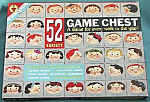 Vintage 52 Variety Game Chest Game