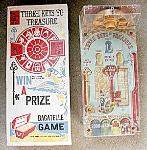 Bagatell 3 Keys To Treasure Pinball Game (Image1)