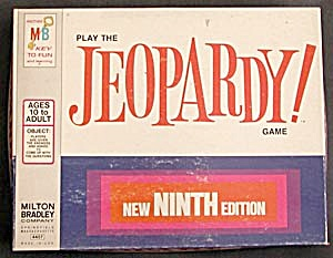 Vintage Jeopardy 9th New Ed. Game