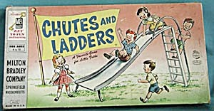 Vintage Chutes And Ladders Game