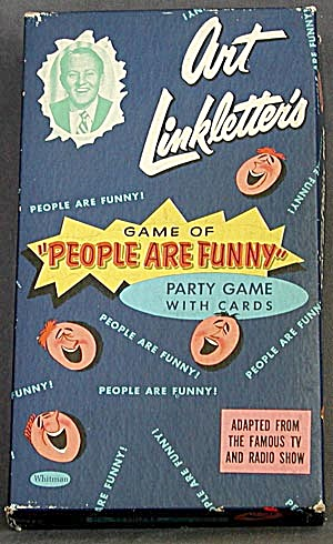 "Art Linkletter's ""people Are Funny"" Game"