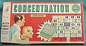 Concentration 1959 Game 2nd Edition As Seen On Nbc