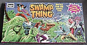 Swamp Thing Battle Of The Bayou Board Game
