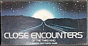 Close Encounters Of The Third Kind Game Board Game