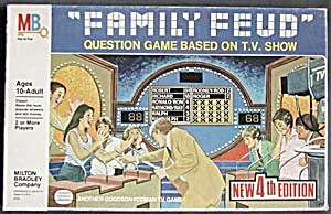 Vintage Family Feud 4th Edition Game