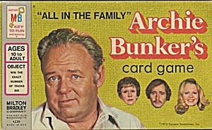 All In The Family Archie Bunkers Card Game