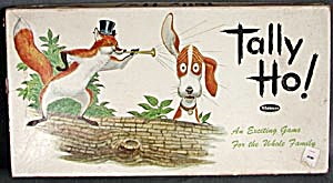 Vintage Tally Ho Board Game