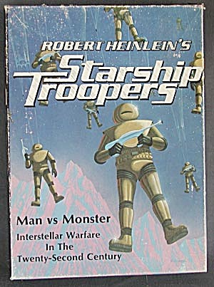 Vintage Avalon Hill  Starship Troopers Game (Image1)