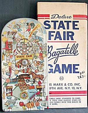Vintage State Fair Pinball Game (Image1)