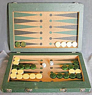 Vintage Backgammon Game (Image1)