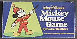 Vintage Walt Disney's Mickey Mouse Board Game