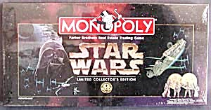 Monopoly Game Star Wars Board Game (Image1)