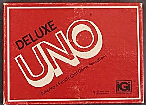 Vintage UNO Deluxe Card Game (Image1)