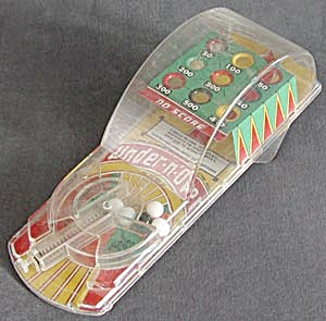 Vintage Under'n Over Marble Pinball Game (Image1)