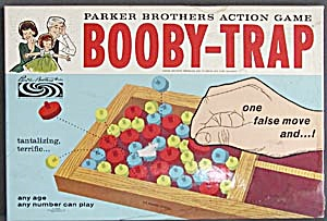 Vintage Booby Trap Game