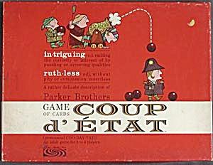 Vintage Coup d' Etat Card Game (Image1)