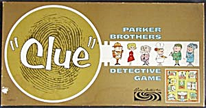 Vintage 1963 Clue Board Game (Image1)