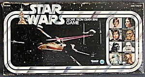 Vintage Star Wars Escape from Death Star board Game (Image1)