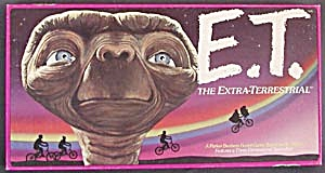 "E.t. ""the Extra Terrestrial"" Board Game 1982"