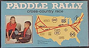 Vintage Paddle Rally Cross-country Race Game