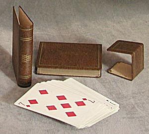 Vintage Decorative Holder for 2 Decks of Cards (Image1)