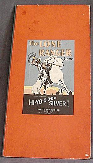 Vintage Lone Ranger Game Board (Image1)