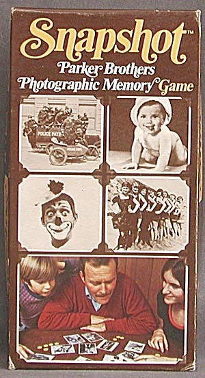 Vintage Snapshot Photographic Memory Game