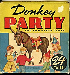 Vintage Donkey Party Game (Image1)