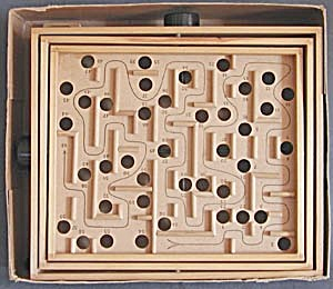 Vintage Labyrinth Skill Game