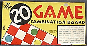 Vintage 20 Game Combination board (Image1)