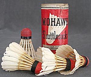 Vintage Mohawk Shuttlecocks (Image1)