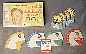 All In The Family Archie Bunkers Card Game 1972