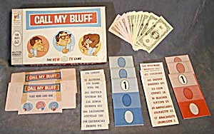 Call My Bluff 1965 Game (Image1)