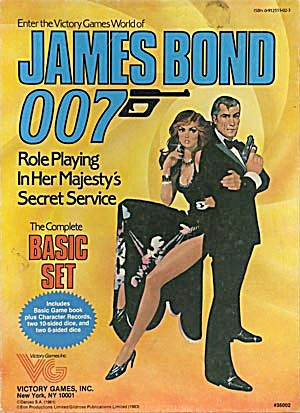 James Bond 007 Role Playing Game