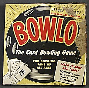 Vintage Bowlo The Card Bowling Game