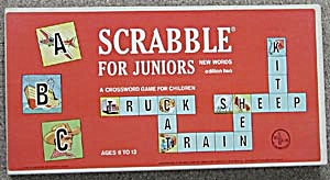 Scrabble For Juniors Game