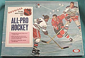 Vintage Official National Hockey League Game