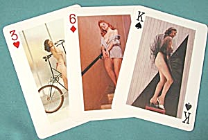 Knight's Gallery Nude Playing Card Set In Original Box