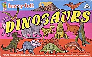 Fuzzy Felt Dinosaur Picture Making Set (Image1)