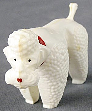Vintage Poodle Plastic Nodder (Image1)