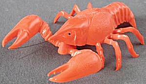 Vintage Lobster Plastic Nodder