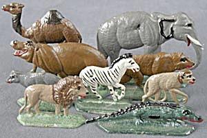 Vintage Lead Zoo Animals (Image1)