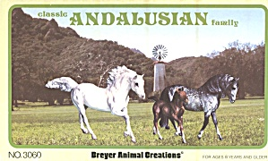 Vintage Breyer Andalusian Family #3060