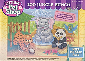 Kenner Littlest Pet Shop 'zoo Jungle Bunchvintage