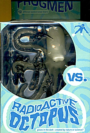 Vintage Accoutrements Frogmen Vs Radioactive Octopus
