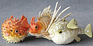 Small Fish Squirter Toys Set Of 3