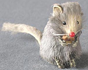 Vintage Original Fur Toys Mouse (Image1)