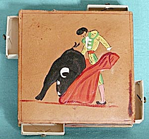 Vintage Bullfighter Match Holder (Image1)
